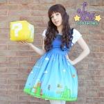 Mario's Mushroom Kingdom by Vitae Clothing